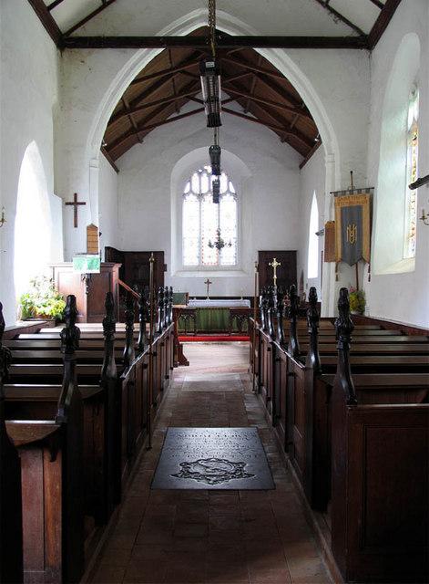 St Mary, Itteringham, Norfolk - East end