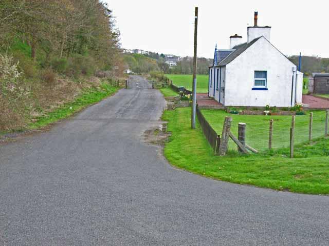 Old road at Glenluce