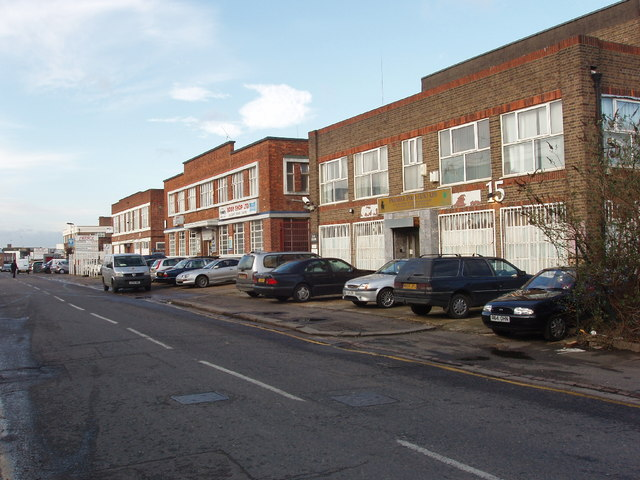 Industrial units, Wadsworth Road