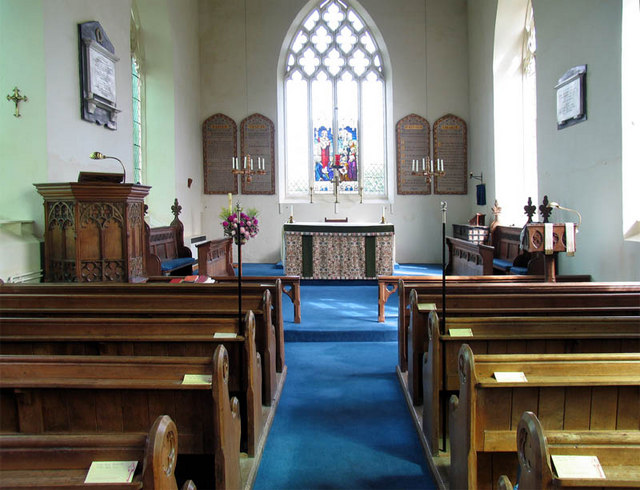 St Andrew, Felmingham, Norfolk - East end