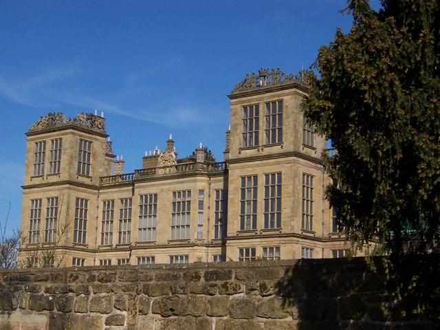 Hardwick Hall West Frontage
