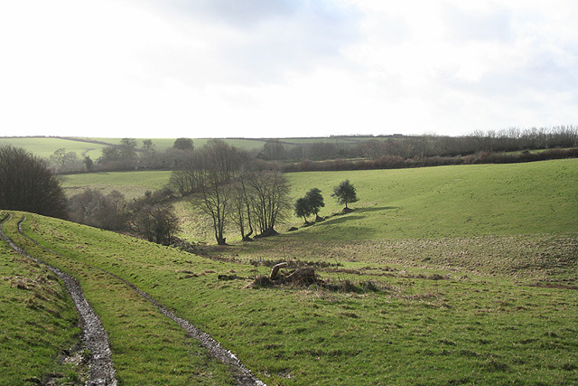 Dulverton: valley above Highercombe and Musicpark
