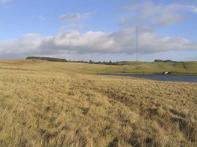 Rough grazing by Headshaw Loch