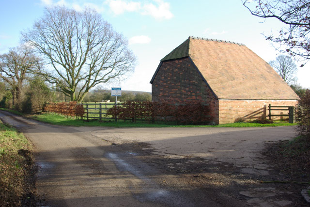 Entrance to Maxstoke Farm