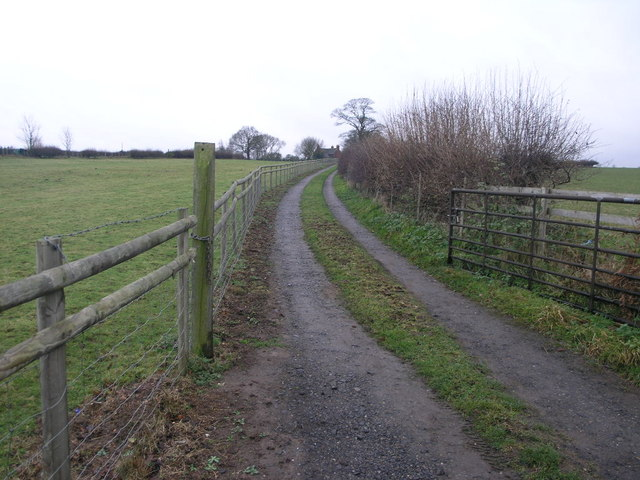 Footpath to the A5
