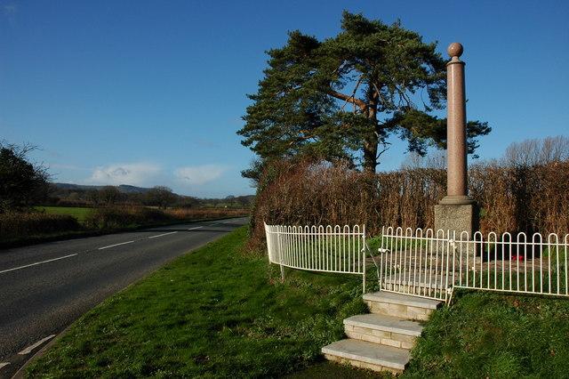 War Memorial, Staunton on Wye