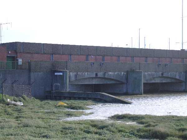 Flood Barrier, rear