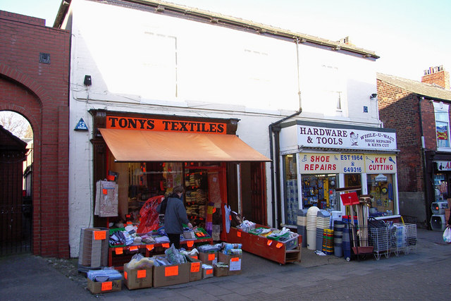 Shops on Prestongate, Hessle