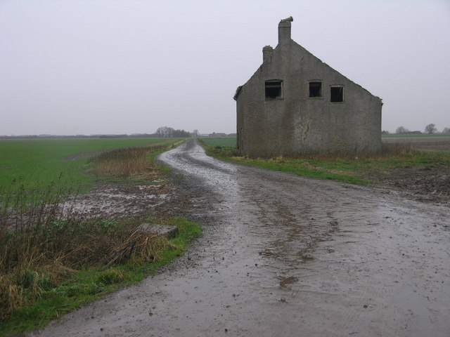Footpath and Old House