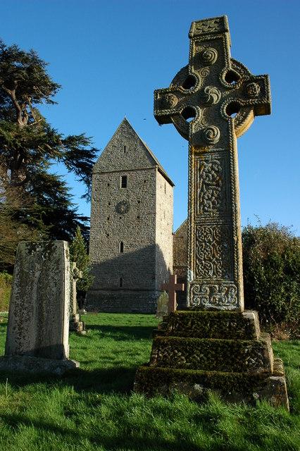 Celtic cross, Kinnersley