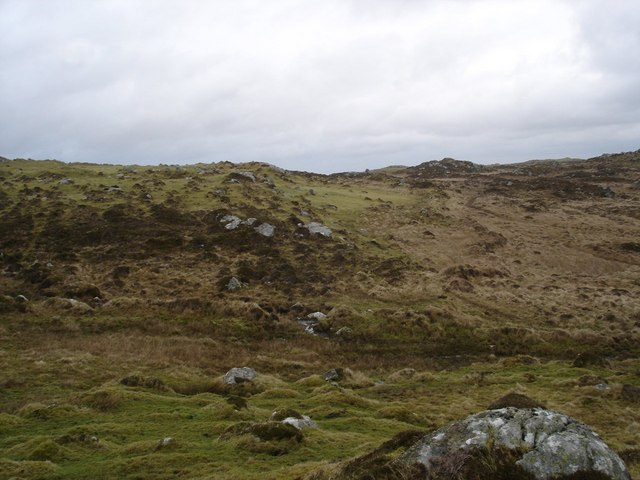 Moorland below Beinn Hynish