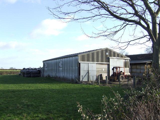 Farm building opposite Hanley Court