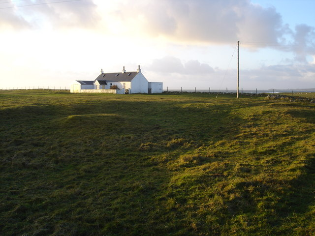 House on the Machair in Heanish