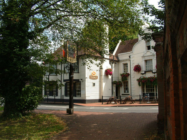 The Greyhound Hotel, Carshalton