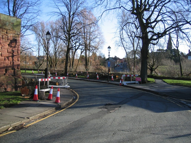 Castle Drive after the Gales