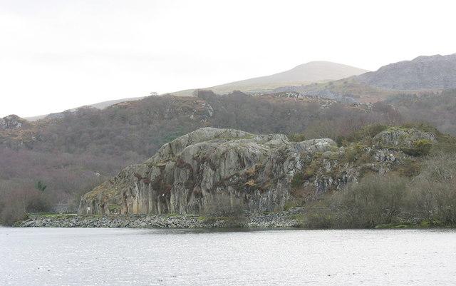 Craig yr Undeb - the Union Rock