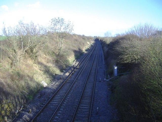 Fosse Way railway cutting