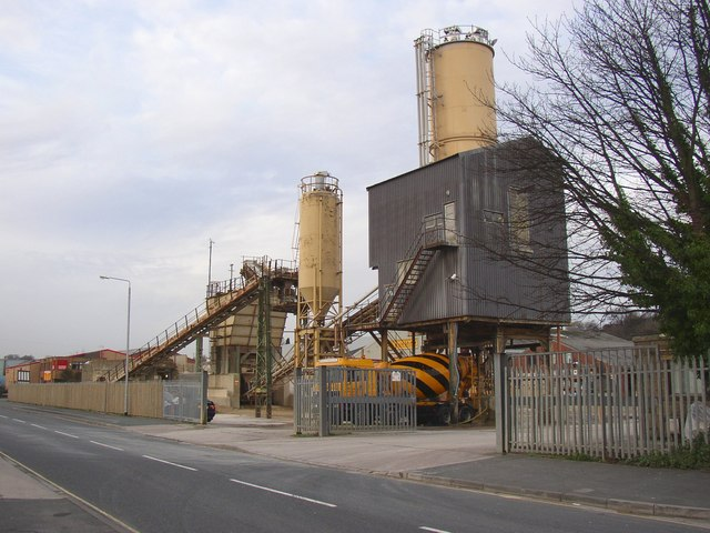 Concrete works, Armytage Road, Clifton
