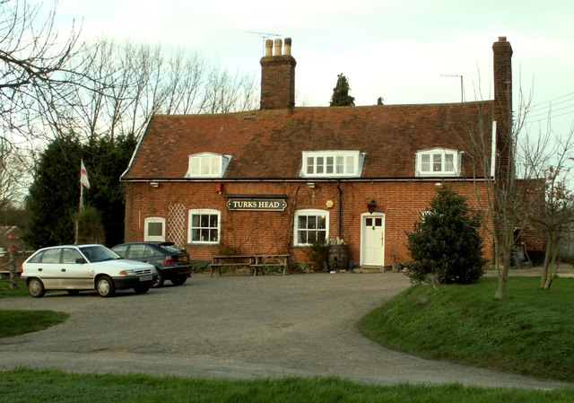 'Turks Head' inn, Hasketon, Suffolk