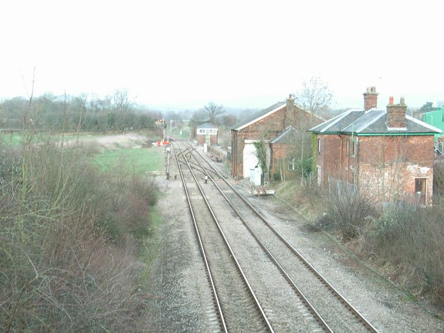 Woofferton station (disused)
