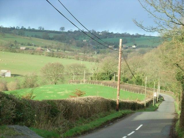 Lane to Stoke St Milborough