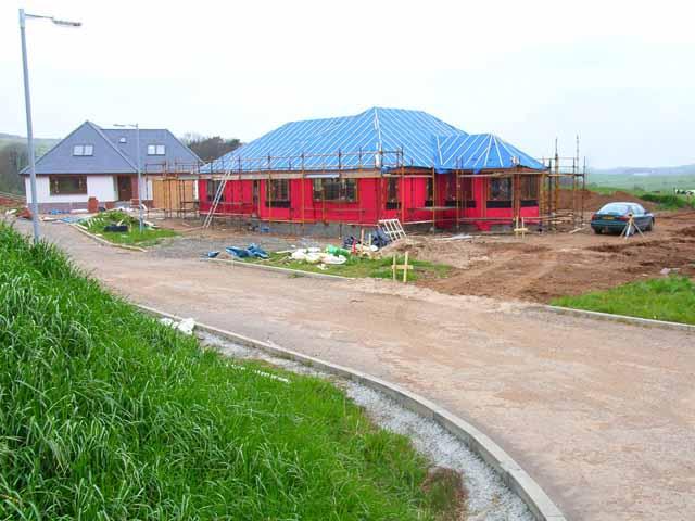 New house, Leswalt
