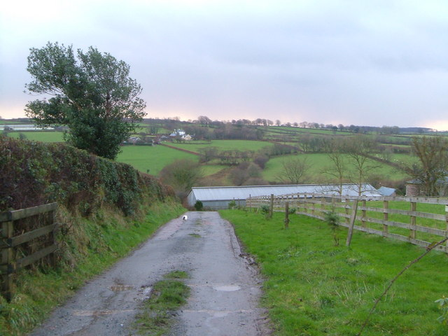 Whitstone Farm and Westcott