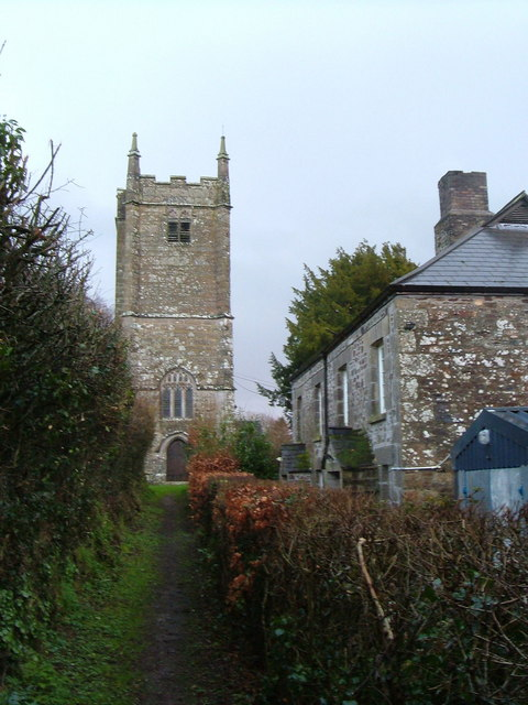 St Andrew's church, Coryton