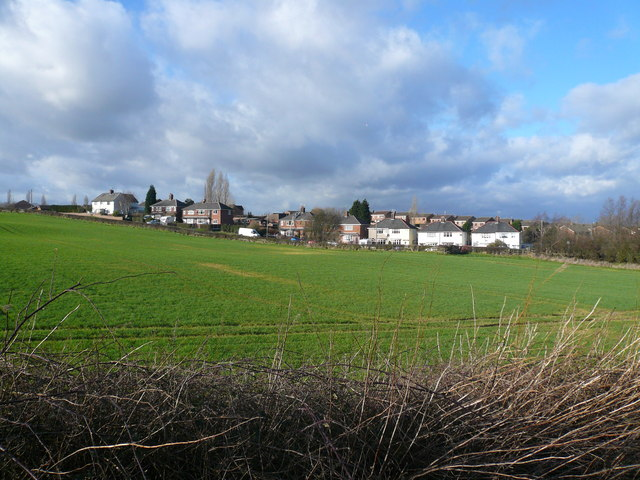 Grassmoor - Birkin Lane from Five Pits Trail