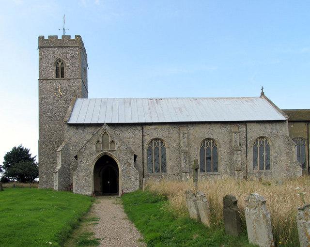 St Peter & St Paul, Knapton, Norfolk