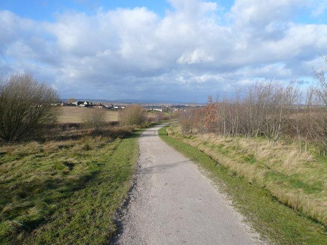 Five Pits Trail View