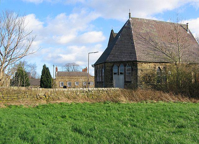 Derelict church hall, Shirland