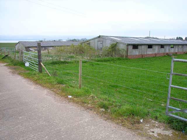 Agricultural buildings north of Stranraer