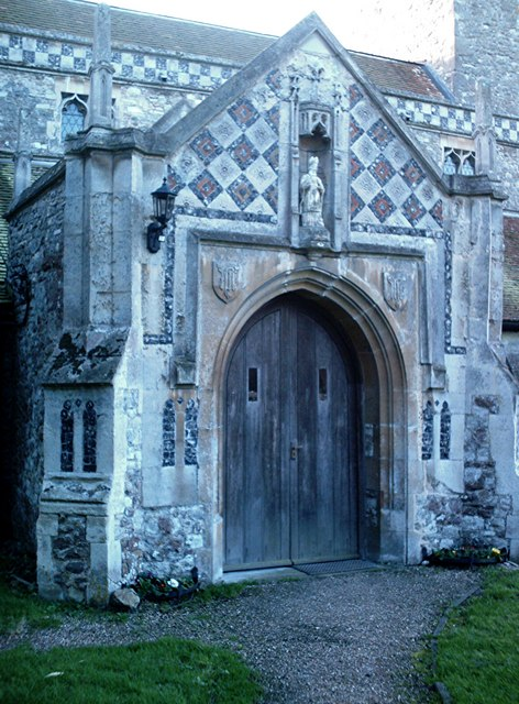 St. Nicholas, Rawreth - Porch