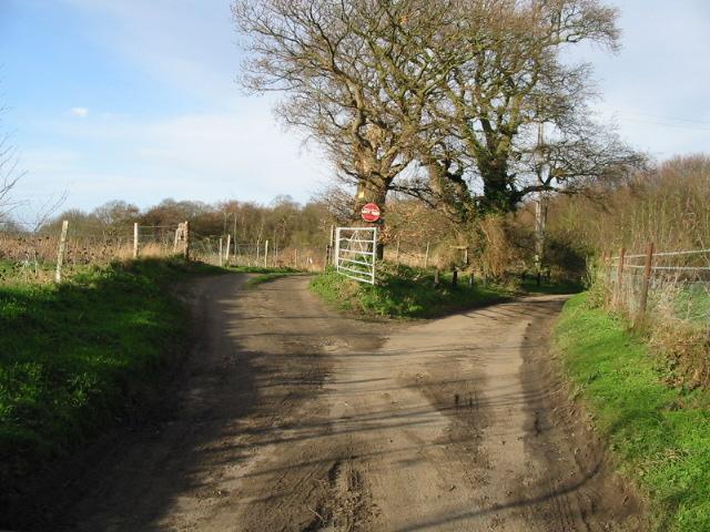 Junction in road