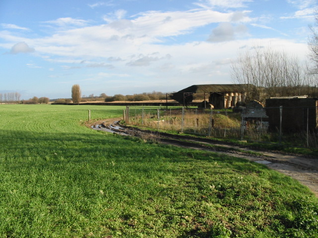 Farm land and buildings, Newnham Farm
