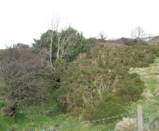 The west adit of Chwarel Goch