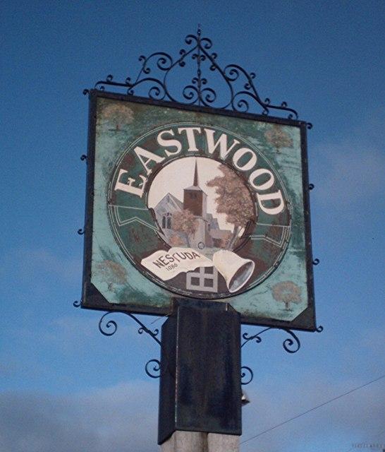 Eastwood  sign, Rochford Corner