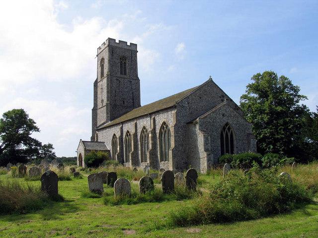 St Peter & St Paul, Honing, Norfolk
