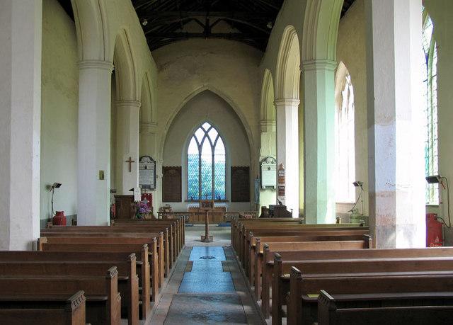 St Peter & St Paul, Honing, Norfolk - East end