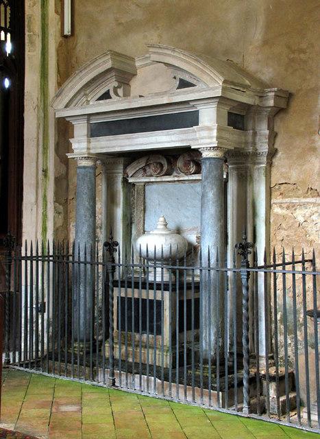 St Margaret, Paston, Norfolk - Tomb