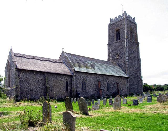 St Andrew, Bacton, Norfolk