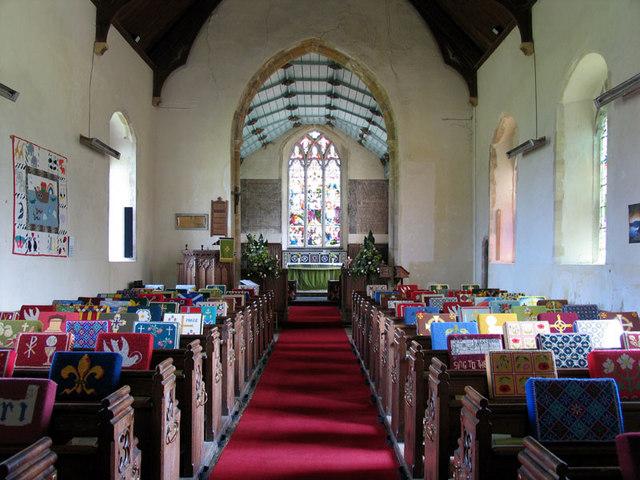 St Andrew, Bacton, Norfolk - East end