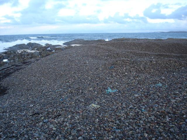 Pebble beach at Urvaig