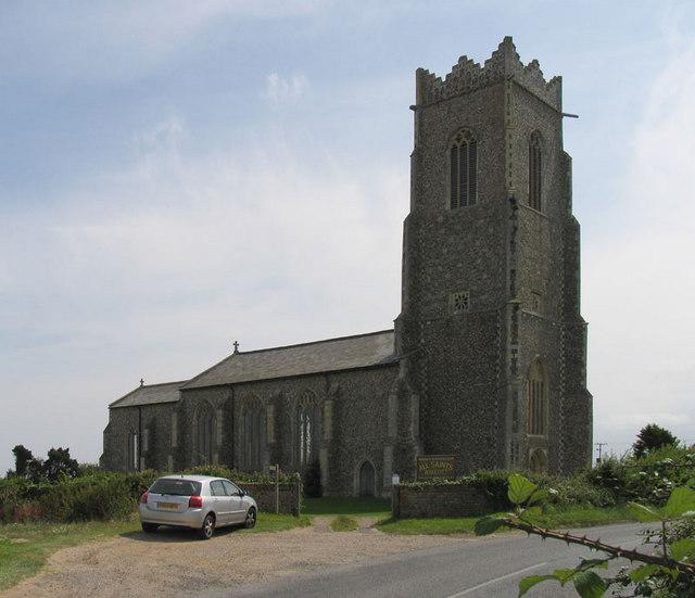 All Saints, Walcott, Norfolk