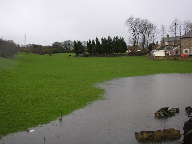 Field off Clough Lane, Rastrick, 21 January 2007