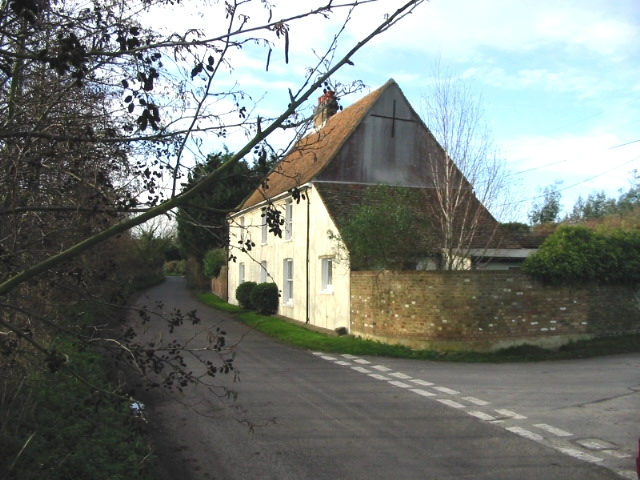 Nash Farm on the junction of Elmstone and Walmestone roads