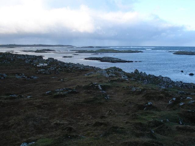 Skerries in Salum Bay