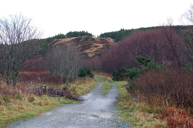 The old road from Kyleakin