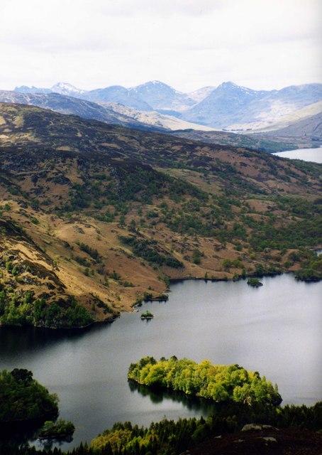 Eilean Molach in Loch Katrine